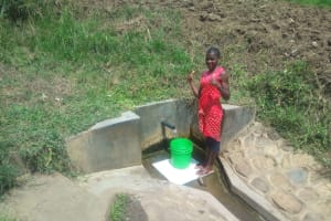 The Water Project: Eshiakhulo Community, Omar Sakwa Spring -  A Year With Water