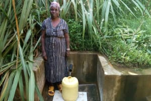 The Water Project: Murumba Community, Muyokani Spring -  A Year With Water