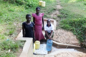 The Water Project: Shitungu Community, Makale Spring -  A Year With Water