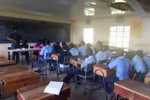 The Water Project: Kamuluguywa Secondary School -  Training