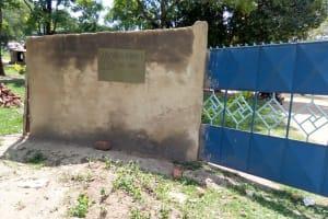 The Water Project: Shivanga Primary School -  School Gate