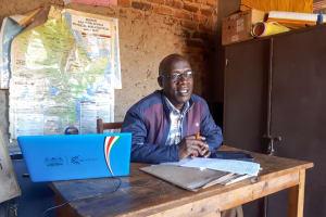The Water Project: Namarambi Primary School -  Headteacher Alfred Ngome