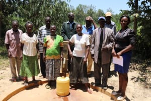 The Water Project: Eshitowa Community -  A Year With Water