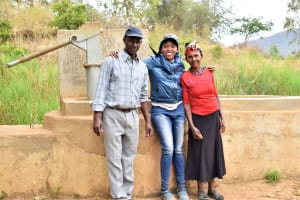 The Water Project: Kithumba Community A -  A Year With Water