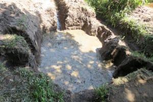 The Water Project: Muyundi Community, Baraza Spring -  Spring Foundation