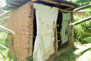 The Water Project: Mukoko Community, Mshimuli Spring -  Some Latrines Overseen In The Village