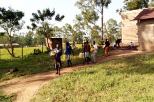 The Water Project: Lusiola Primary School -  Bringing More Water To The Artisan