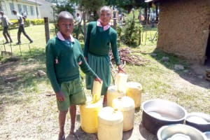 The Water Project: Mavusi Primary School -  Storing Water