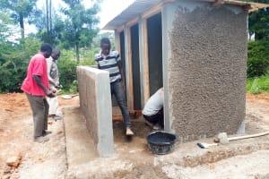 The Water Project: Kamuluguywa Secondary School -  Latrine Construction