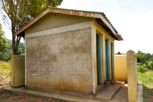 The Water Project: Shivanga Primary School -  Latrines