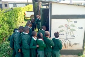 The Water Project: Green Mount Primary School -  Line At The Latrines