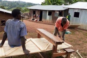 The Water Project: Gemeni Salvation Primary School -  Latrine Construction