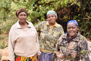 The Water Project: Mbakoni Community A -  Women Who Worked Alongside The Construction Team