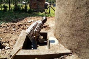 The Water Project: Lusiola Primary School -  Tank Construction