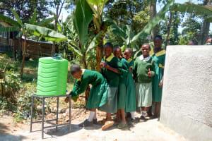 The Water Project: Muyere Primary School -  Handwashing Station