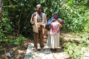 The Water Project: Ematetie Community, Chibusia Spring -  Sanitation Platform