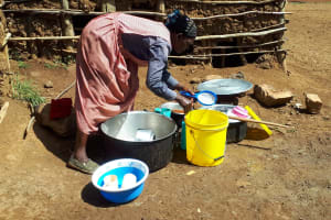 The Water Project: Namarambi Primary School -  School Cook And Kitchen