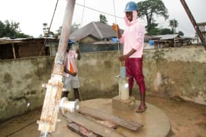 The Water Project: Tintafor Community, Shyllon Street -  Bailing
