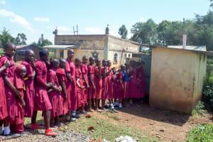 The Water Project: Namarambi Primary School -  Huge Latrine Lines