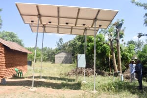 The Water Project: Kyaani Primary School -  Unreliable Community Water System