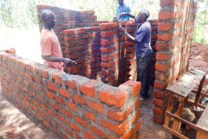 The Water Project: Viyalo Primary School -  Latrine Construction