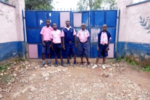 The Water Project: Friends Kaimosi Demonstration Primary School -  School Entrance