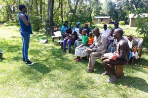 The Water Project: Muyundi Community, Baraza Spring -  Training