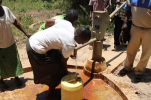 The Water Project: Eshitowa Community -  Reliable Water
