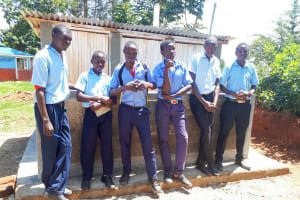 The Water Project: Kamuluguywa Secondary School -  New Latrines