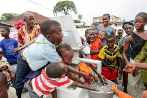 The Water Project: Tintafor Community, Shyllon Street -  Clean Water