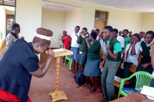 The Water Project: Kwirenyi Secondary School -  Training