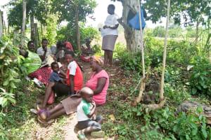 The Water Project: Ewamakhumbi Community, Yanga Spring -  Training