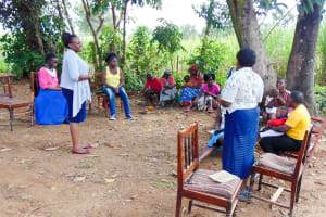 The Water Project: Isembe Community, Amwayi Spring -  Training