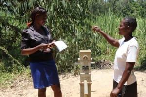 The Water Project: Eshitowa Community -  Interviewing Razia Sumba