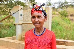 The Water Project: Kithumba Community A -  Veronica Munini
