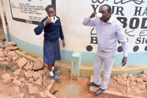 The Water Project: Kyanzasu Secondary School -  A Year With Water