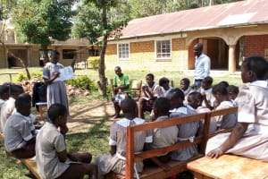 The Water Project: Lusiola Primary School -  Training