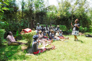 The Water Project: Chegulo Community, Werabunuka Spring -  Dental Hygiene