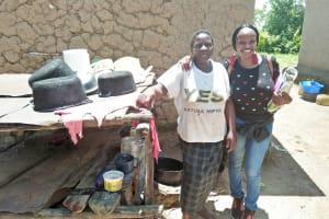 The Water Project: Mukoko Community, Mshimuli Spring -  Emily Vihenda And Grace