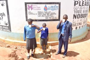 The Water Project: Kyanzasu Primary School -  A Year With Water