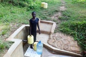 The Water Project: Shitungu Community, Makale Spring -  Doreen Vinzari