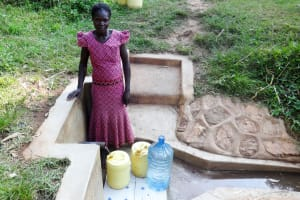 The Water Project: Shitungu Community, Makale Spring -  Violet Kebali