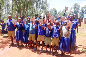 The Water Project: Viyalo Primary School -  Group Training Picture