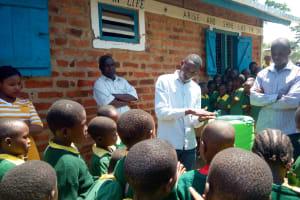 The Water Project: Muyere Primary School -  Handwashing Training