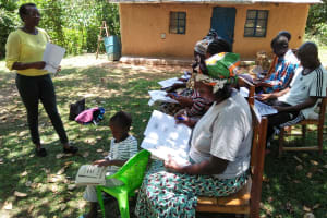 The Water Project: Ematetie Community, Chibusia Spring -  Training