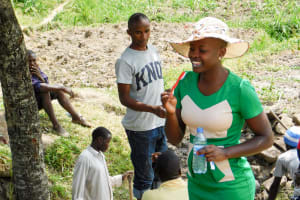 The Water Project: Indete Community, Udi Spring -  Dental Hygiene Training