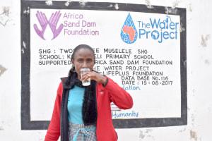 The Water Project: Kwa Kaleli Primary School -  Lilian Sammy