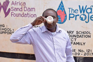 The Water Project: Kyanzasu Secondary School -  Principal Mbaluto