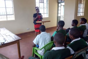 The Water Project: Kwirenyi Secondary School -  Dental Hygiene Training