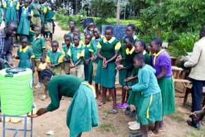 The Water Project: Gemeni Salvation Primary School -  Handwashing Training